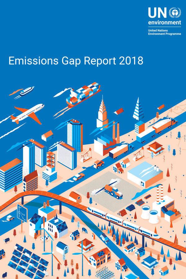 تقرير الأمم المتحدة عن فجوة الانبعاثات في البيئة