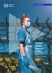 تقرير الأجور العالمي ٢٠٢٠/٢٠٢١
