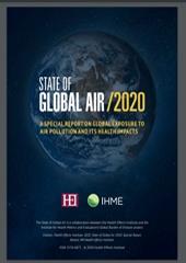 تقرير الهواء العالمي ٢٠٢٠.. الصادر عن معهد التأثيرات الصحية( IHME)